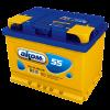 Аккумуляторная батарея АКОМ 6CT-55VL евро ( EN 460A R+)