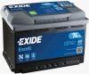 Аккумуляторная батарея Exide Excell 74 А/ч (680A R+) EB741