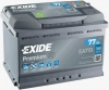 Аккумуляторная батарея Exide Premium 77 А/ч (EN 760A R+) EA770