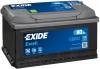 Аккумуляторная батарея Exide Excell 80 А/ч (700A R+) EB802