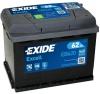 Аккумуляторная батарея Exide Excell 62 А/ч (EN 540A R+) EB620