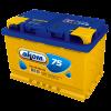 Аккумуляторная батарея АКОМ 6CT-75VL евро (EN 700A R+)