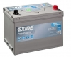 Аккумуляторная батарея Exide Premium Asia 75 А/ч (EN 630A R+) EA754