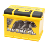 Аккумуляторная батарея Тюменский медведь Ca/Ca Silver 6CT-62VL (62 А/ч L+ EN 630A)