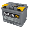 Аккумуляторная батарея АКОМ Reactor 6CT-55VL (EN 550A L+)