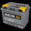 Аккумуляторная батарея АКОМ Reactor 6CT-55VL (EN 550A R+)