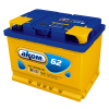 Аккумуляторная батарея АКОМ 6CT-62VL евро (EN 540A R+)